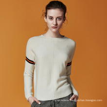 P18B03TR cashmere knitted lady sweater