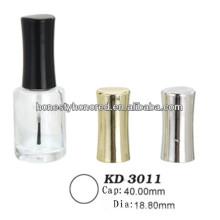 Hot Venda Nail Polish Garrafa de vidro & Pincel & Cap