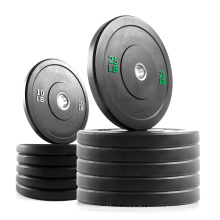 Competition Bumper Plate Custom Rubber Competition Gym Bumper Plates Weight Lifting Plate Set Lbs