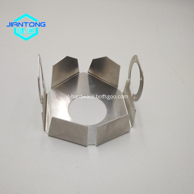 Custom Aluminum Laser Cutting Metal Fabrication Service 2