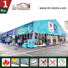 30m Huge Aluminum Exhibition Tent with Glass Wall