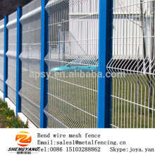 Wholesale made in China PVC coated v bend mesh panels farm wire dividers security welded fence panels