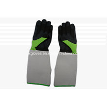 Guante largo guante de jardín-guante de trabajo guante de mano-guante de protección
