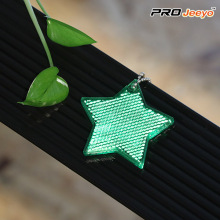Reflecterende Safety Star Walking Reflector Sleutelhanger Hanger