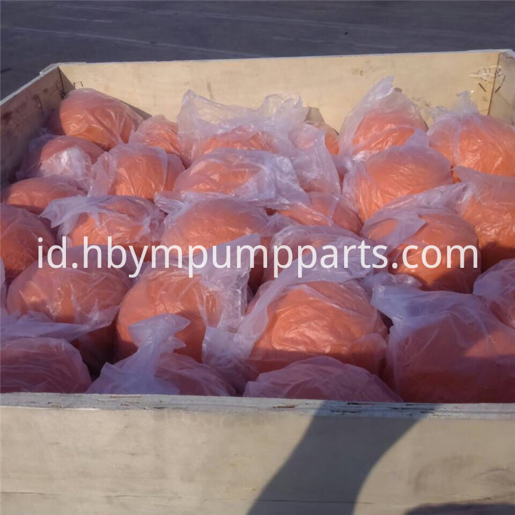 Concrete Pump Rubber Cleaning Ball,