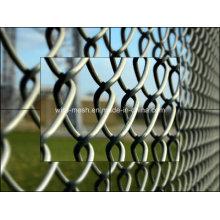 Galvanized/PVC Coated Diamond Wire Mesh