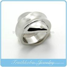TKB-R0040 Fashion Lastest Unique joyas de anillo de acero inoxidable 316L piezas de fundición de anillo