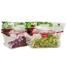 Ziplock Packaging Plastic Bag For Grapes/Cherry/Orange/Fruit Packaging With Handle