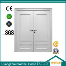 Kundenspezifisch beste Qualität Neues Design Weiß grundierte Türen (WDH01)