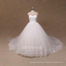 Nova linha de marfim laço mais tamanho vestido de noiva vestidos de noiva
