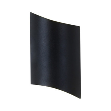 Aplique de pared LED negro para exteriores Speacial