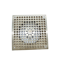 Nickel bronze square strainer without body