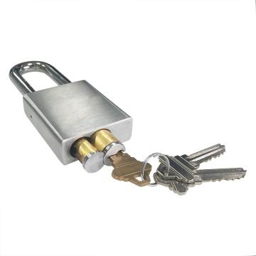 Cadeado com chave LFIC removível em latão durável