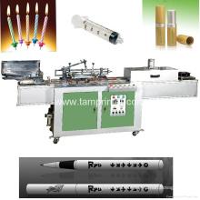 Impresora de pantalla automática de superficie redonda Tam-Zm en bolígrafos con horno IR