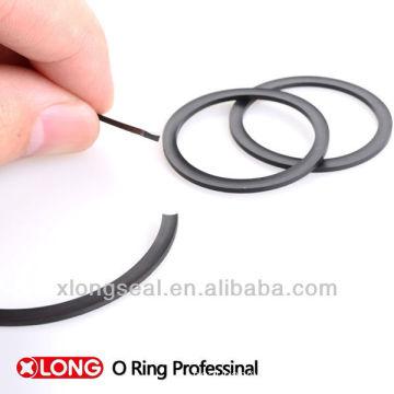 black nbr back up ring