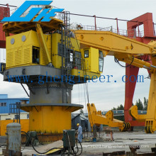 Large Load Hydraulic Knuckle Boom PORT Marine Crane