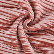 Nueva tela vendedora caliente del terciopelo triturado de la tela de punto