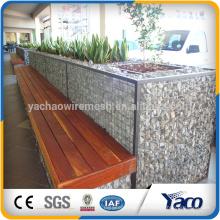 china lieferant 2 * 1 * 1 m. 1 * 1 * 0,5 m geschweißte maschendraht galvanisierte maschendraht gabion (ISO 9001)