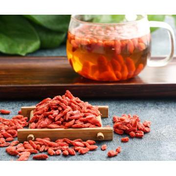 Nouveau certificat bio séché goji berry ningxia goji chinois rouge goji