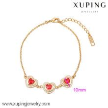 73933-Xuping bijoux de haute qualité en plaqué or Bracelet pour Woamn