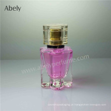 Garrafas de vidro do perfume da forma 20ml da flor