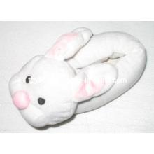 Plush Stuffed Animal Shoes Slippers Rabbit Head (TF9717)