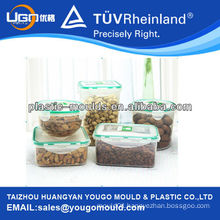 2013 thin wall food container mould supplier and New household plastic injection tool box mould