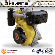 Dieselmotor mit Nockenwelle Gelbe Farbe (HR186FS)