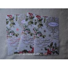 Праздничные поздравительные открытки с красной фольгой