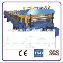 YTSING-YD-4342 Passou a máquina da folha do perfil da telha do CE, rolo da telha do metal que dá forma à máquina