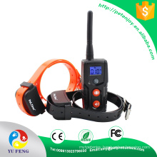 Pet Safe Rechargeable Waterproof LCD collar in black color dog Petainer training tool collar China Suppliers Completely Pet Safe Rechargeable Waterproof LCD Dog Training Collar