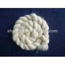 100% reine feine Elfenbein-Ziegen-Kaschmir-Oberseiten