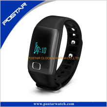 a + Qualität Pulsmesser Smart Watch Phone Schrittzähler Silikonband