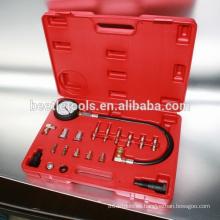 Medidor de presión del cilindro de 20 piezas para el kit del camión diesel de la herramienta de reparación del ecu del coche