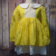 Boutique remake new designs yellow easter dress