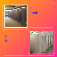 cheap  public waterproof compact laminate toilet shower cubicle partition