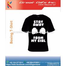 Camiseta de boxe estilo moda de alto padrão
