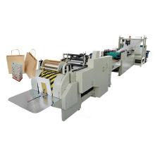 Roll Feeding Square Bottom Paper Hand Bag Machine
