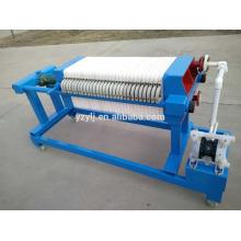 320 Heißer Verkauf China neue prozess filterpresse maschine platte filter für wein