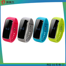 Support Android and Ios Silicon Smart Healthy Bracelet (SW-1017-001)