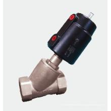 Válvula neumática de bisel - Dn10-80 G3/8′′ ~ G2-1/2′′ roscado