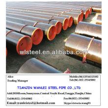 api 5CT J55 / K55 soldadura de tubería de petróleo y gas