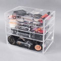 Acrylic Makeup Organizer Drawers with Dividers