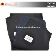 Tecido de lãs do ponto do pino da qualidade fina de 2015 estilos elegantes para o terno na vária cor