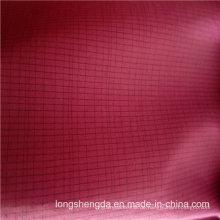 Wasser & Wind-Resistant Daunenjacke Woven Plaid Jacquard 12% Polyester + 88% Nylon Blend-Weaving Fabric (H060)