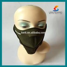 Sports protective masks half face helmet neoprene mask