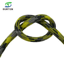 Yellow Polyester/Nylon/PP/Polypropylene/Polyamide/Plastic/Reflective/Rescue/Safety Single Braided Tent Rope