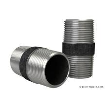 Bico de aço com tubo preto