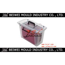 Fabricante personalizado do molde da caixa do arquivo plástico
