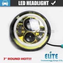 """7 """"runde LED Sealed Beam Ersatz von Jeep LED-Scheinwerfer für Harley"""